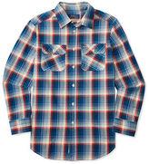 Ralph Lauren Boys 8-20 Plaid Cotton Twill Shirt