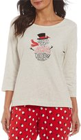 Sleep Sense Petite Winter Wonder Snowman Sleep Top