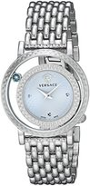 Versace Women's VDA030014 Venus Stainless Steel Bracelet Watch with Blue Dial