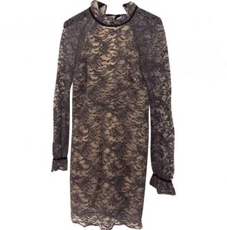 Rebecca Vallance Grey Lace Dress for Women