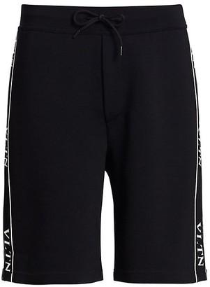 Valentino Logo Tape Shorts
