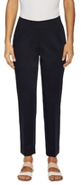 Lafayette 148 New York Cotton Side Zip Cropped Pant