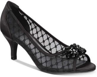 Karen Scott Maralyn Peep-Toe Evening Pumps, Women Shoes