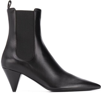 Jil Sander Pointed Toe Ankle Boots