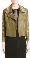 Yigal Azrouel Women's Embellished Leather Moto Jacket