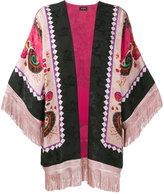 Etro fringed printed kimono jacket