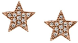 Dana Rebecca Designs diamond and 14kt rose gold Julianne Himiko Star earrings
