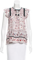 Ulla Johnson Silk Posy Top w/ Tags