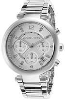 Michael Kors MK5275 Women's Glitz Rare Tone Stainless Steel Bracelet Chronograph Watch
