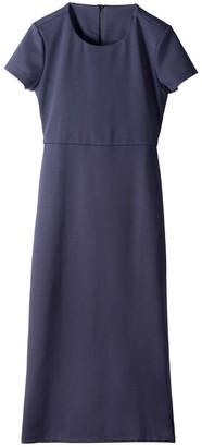 Voya Cut Out Navy Midi Dress