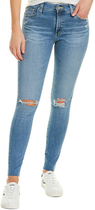 AG Jeans Farrah 24 Years Stark Destruct Skinny Ankle Cut