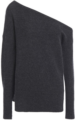 Charli Cache Off-the-shoulder Cashmere Sweater