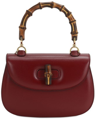 Gucci Bamboo Classic 2 Azalea Top Handle Bag
