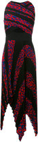 Proenza Schouler pleated print dress - women - Silk/Polyester/Acetate/Viscose - 4