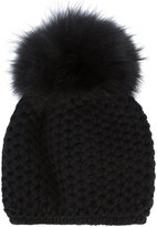 Inverni Honey Comb pom beanie