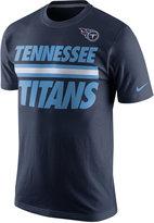 Nike Men's Tennessee Titans Team Stripe T-Shirt