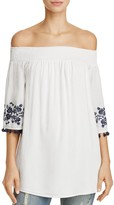 Show Me Your Mumu Presley Off-the-Shoulder Tunic