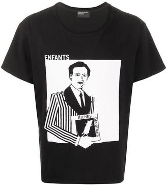 Enfants Riches Deprimes graphic-print logo T-shirt