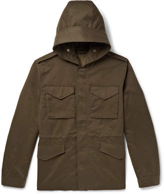 Mr P. Weather-Resistant Hooded Field Jacket