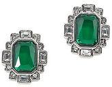 Carolee Wall Street Silvertone Stud Earrings