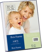 MCS Clear Box Frame, 8.5 by 11-Inch
