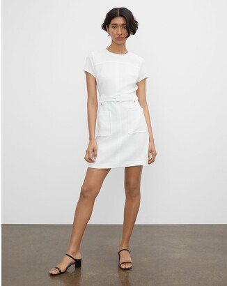 Club Monaco Belted Pocket Dress