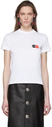 Balenciaga White Uniform Logo T-Shirt