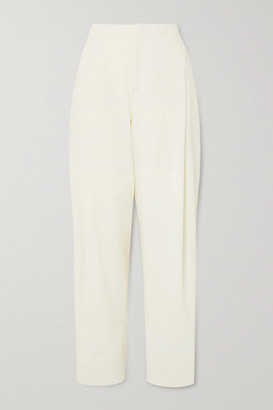 Georgia Alice Pierre Crepe Tapered Pants - White