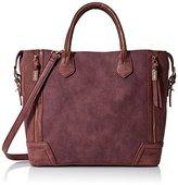 Steve Madden Rowan Shoulder Handbag,Berry