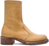Maison Margiela Leather Replica Boots