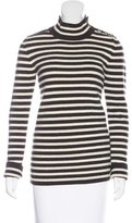 Bouchra Jarrar Wool Striped Sweater