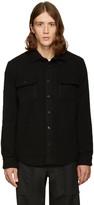 Noah Ssense Exclusive Black Wool Teddy Shirt