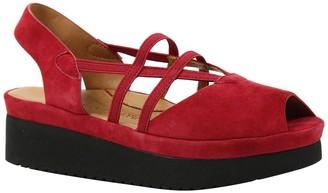L'Amour des Pieds Adelai Peep Toe Platform Sandal