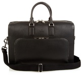 Gucci Dollar Grained-leather Briefcase
