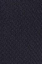 Calvin Klein Hooded Asymmetric Zip Bouclé Coat