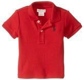 Ralph Lauren Interlock Knit Polo Shirt (Infant)