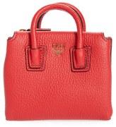 MCM Women's Milla Mini Bag Card Case - Red