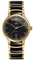 Rado Men's Gold Tone Steel Bracelet & Case Automatic Dial Analog Watch R30157162