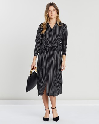 Atmos & Here Chantelle Shirt Dress