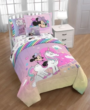 Disney Minnie Bowtique 'Unicorn Dreams' 6pc Twin bed in a bag Bedding