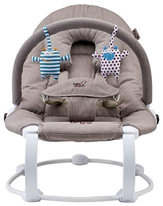 BabaBing Bababing! Lobo2 Two Position Baby Bouncer (Grey Twill)