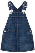 Gap Medium Denim Rip & Repair Denim Skirt Overalls