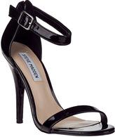 Steve Madden Realove Evening Sandal Black Patent