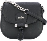 Hogan chain detail crossbody bag