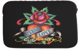 Ed Hardy Eternal Love Bill Laptop Sleeve