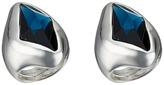 Robert Lee Morris Large Blue Stone Cocktail Ring