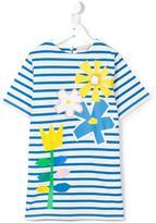 Stella McCartney striped T-shirt dress - kids - Cotton - 6 yrs