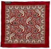 Ralph Lauren RRL Paisley Cotton Pocket Square