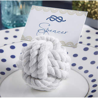 Kate Aspen Nautical Rope Set Of 12 Place Card Holders