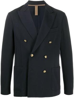 Eleventy Long Sleeve Double-Breasted Jacket
